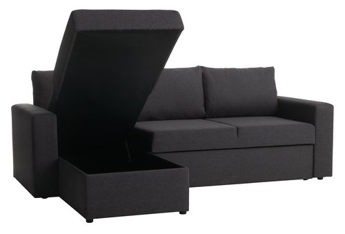 Divano letto chaisel. MARIAGER gr. scuro