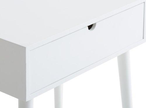 Bedside table ILBRO 1 drw white