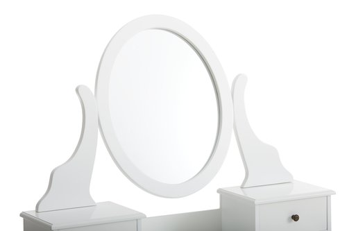 Dressing table MALLING w/mirror white