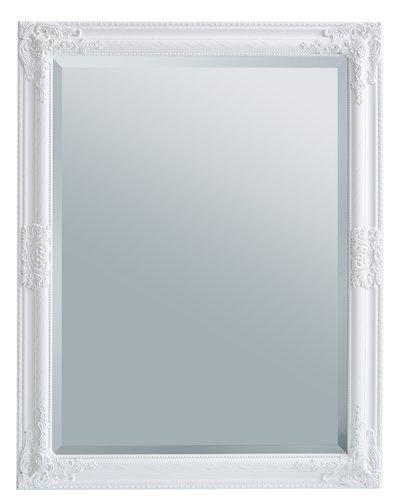Zrcadlo RUDE 70x90 bílá