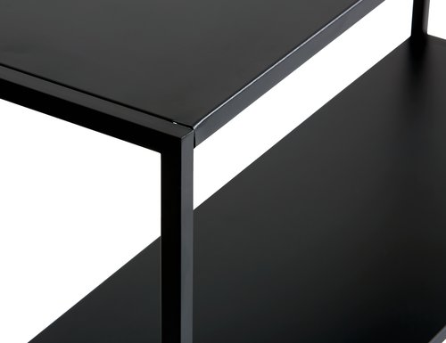 Konzolni stočić VIRUM 26x80 crna