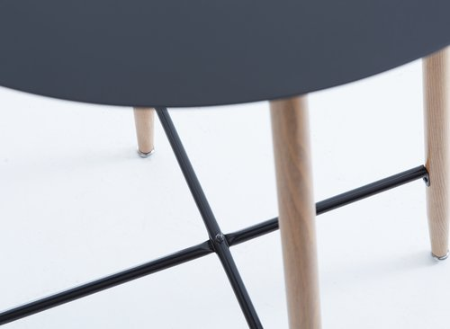 Bar table JONSTRUP D70 black/oak