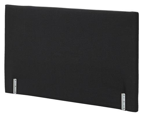 Sengegavl PLUS H15 120x78 plain svart