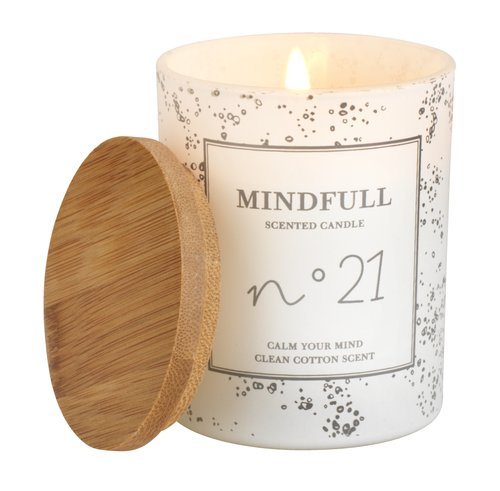 Scented candle ANTON D7xH8cm w/lid