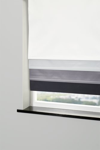 Blackout blind BOLGA 140x170cm black