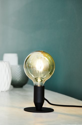 Pöytälamppu CONRAD Ø13cm LEDillä laj.