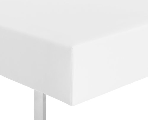 Cearsaf elastic Micro 180x200x25 alb