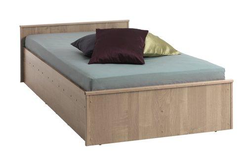 Okvir kreveta GENTOFTE 90x200 hrast