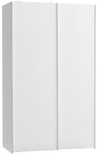 Skab TARP 120x201 hvid højglans