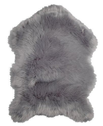 Sztuczna skóra owcza TAKS 60x90cm szara