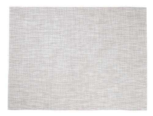Dækkeserviet VALLMO 33x42 meleret grå
