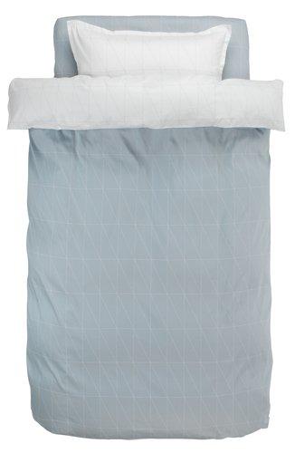 Спално бельо с чаршаф GUNHILD сатен SGL