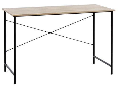 Työpöytä VANDBORG 60x120 tammi/musta