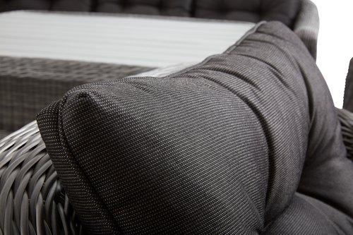 Set lounge TAMBOHUSE 5 pers. grigio