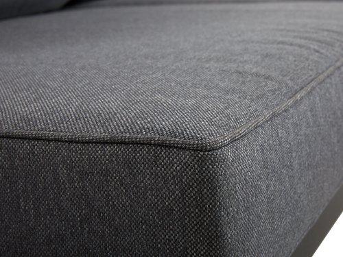 Loungesæt LEVANGER 2-pers. grå