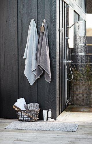 Kylpyhuonematto RYA 55x95 v.harmaa SENSE