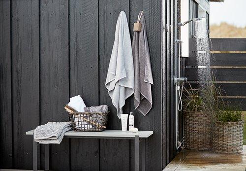 Bath mat RYA 55x95 Organic l. grey SENSE