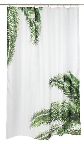 Dusjforheng PAJALA 150x200cm hvit