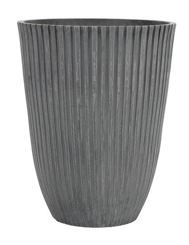 Fioriera esterno MYGGA Ø29xH36 grigio