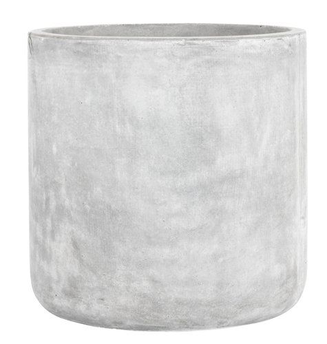 Fioriera esterno FLUGA Ø41xH41 grigio