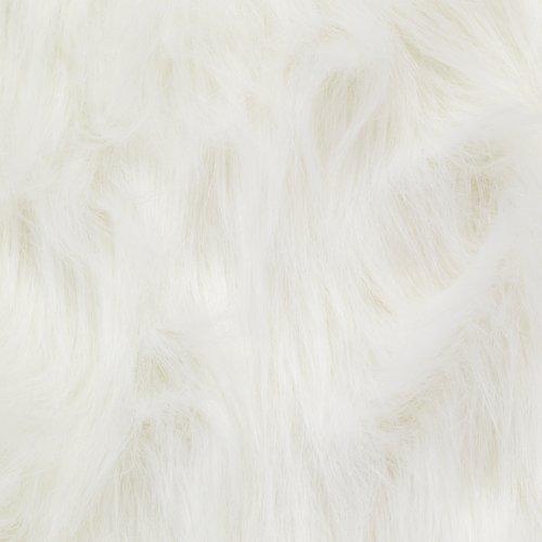 Syntetiskt lammskinn HORN 60x90 vit