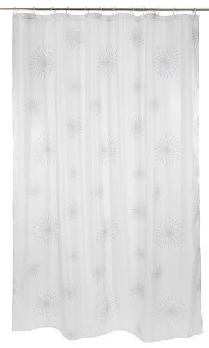 Dusjforheng SVARTVIK 180x230cm hvit
