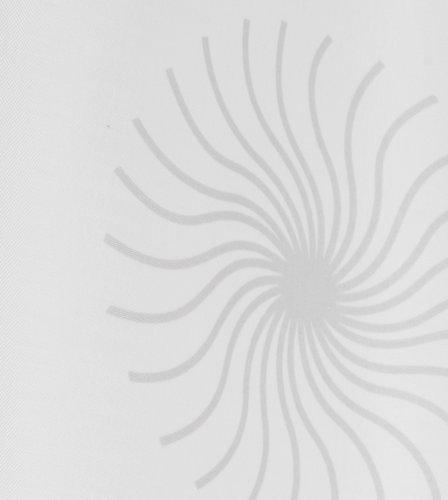 Cortina ducha SVARTVIK 180x200 blanco