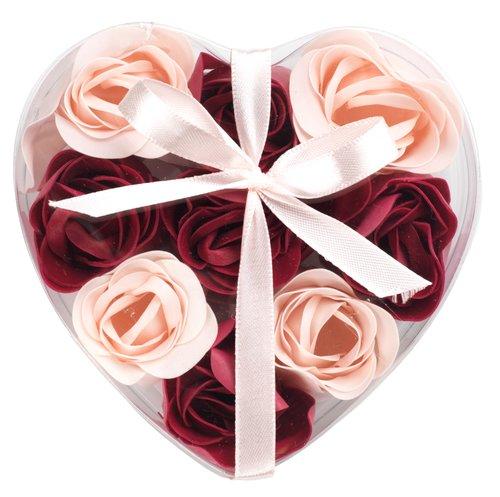 Σαπούνι FLEN τριαντάφυλλα 9τμχ/πκ ροζ
