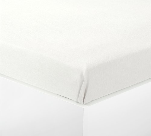 Čaršav flanel 140x250 bela