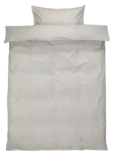 Set posteljine FREJA flanel 140x200 bež