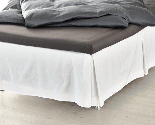 Sängkappa 120x200x45cm vit