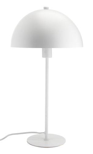 Namizna svetilka HELGI Ø25xV46 cm bela