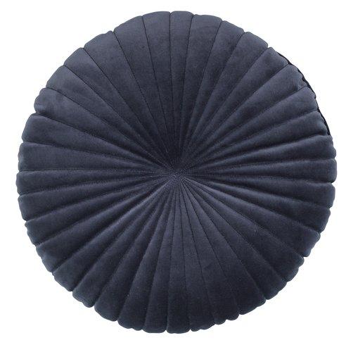 Dekor. polštář KUGLEASK Ø40 tmavě modrá