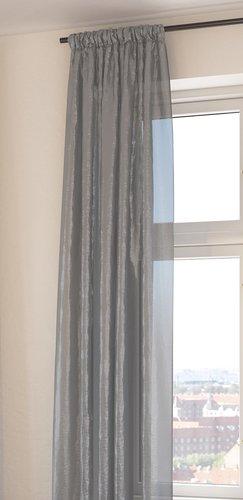 Függöny LOPPA 1x135x300 szürke