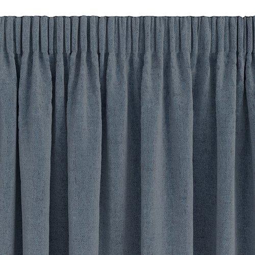 Gardin lystett ALDRA 1x140x175 blå