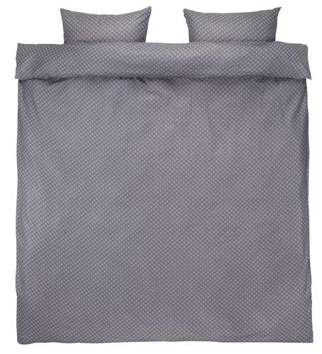 Set posteljine KAREN krep 200x220 siva