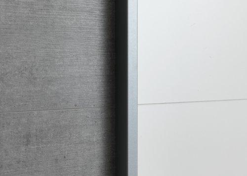 Garderob TARP 151x201 betong/vit
