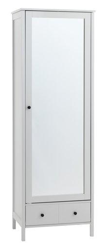 Ντουλάπα TERPET 60x180 μ/καθρ. λευκό