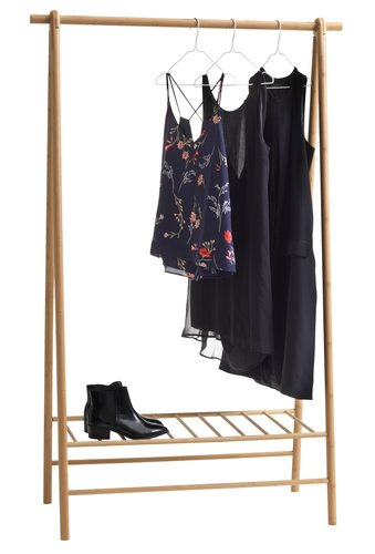 Clothes rail VANDSTED bamboo