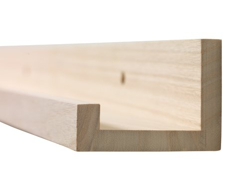Picture ledge ILBRO 60x8 natural