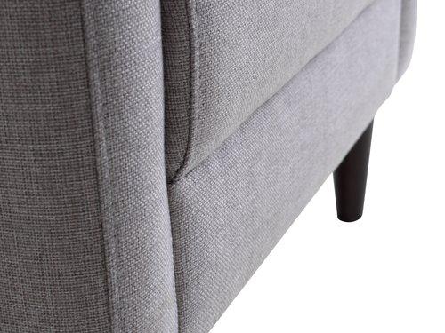 Armchair GEDVED light grey