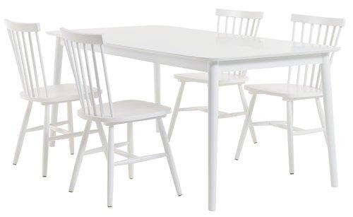 LANGDAL 190 albă + 4 LANGDAL albe