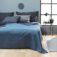 Bedsprei ROSENTRE 220x240 donker/blauw