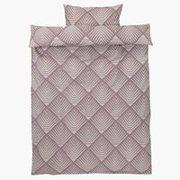 Duvet cover NOVA SGL purple