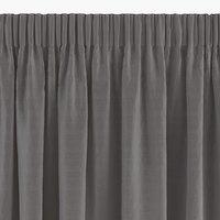 Gordijn AUSTRA 1x140x300 fluweel grijs