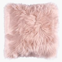 Cushion TAKS 40x40 faux fur rose