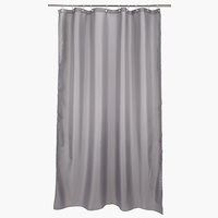 Shower curtain HAMMAR 150x200 grey