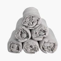 Čaršav žersej 170/180x200x25 siva