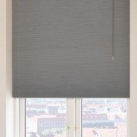 Plisségardin Mörkl. FUR 80x130 grå