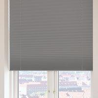 Plisségardin FYN 80x160 lysdemp grå